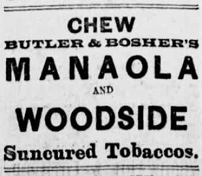 (Chronicling America) — Richmond Times advertisement — Tuesday, February 14, 1893