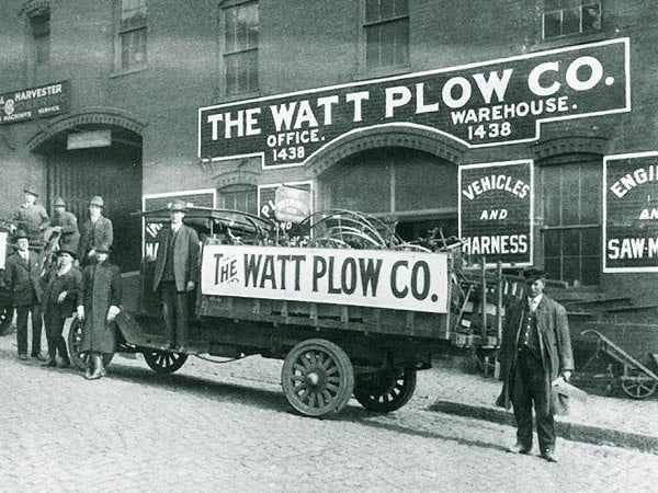 (Watt Plow) — Watt Plow Company mystery location — 1438 East Main?