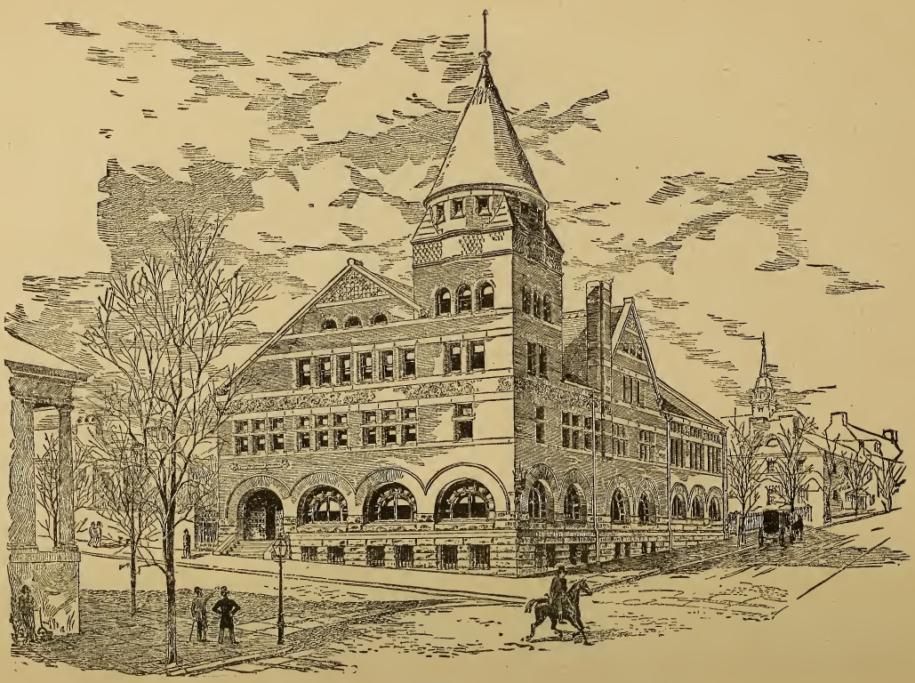 [IOR] — Young Men's Christian Association Building, circa 1886