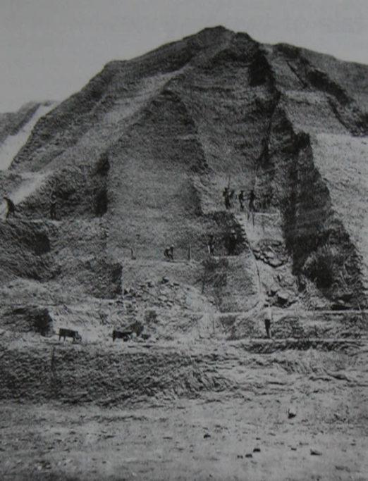 (Atlas Obscura) — a guano mine on Peru's Chincha Islands, circa 1860