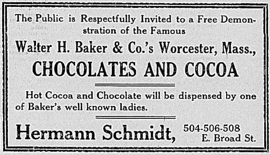 (Chronicling America) — advertisement, Richmond Times-Dispatch — Sunday, February 10, 1907